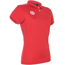 Afbeelding in Gallery-weergave laden, Women's Tech Polo Shirt - rood