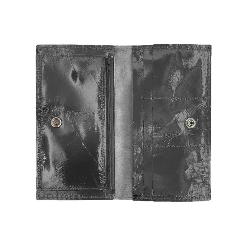 Load image into Gallery viewer, Sarah Wallet-Black Patent