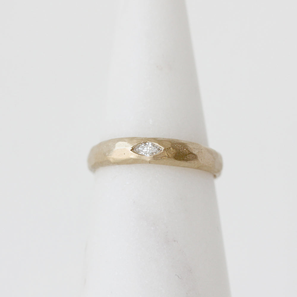 Load image into Gallery viewer, Marquise Diamond Band