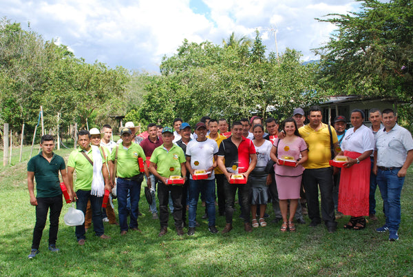 Group Shot of 2020 Copa Suaceña Winning Producers