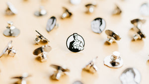 """Otis"" Enamel Lapel Pin"