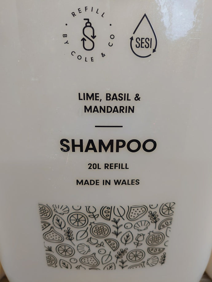 Shampoo - Lime, Basil and Mandarin