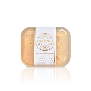 ChuChuSkincare Golden Honey Silk Nourishing Facial Soap 金箔蜜糖絲蛋白修護美容皂