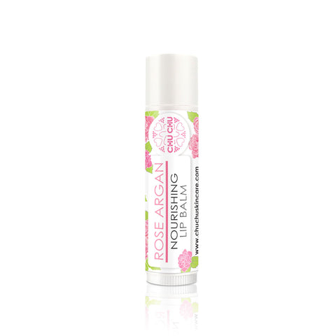 ChuChuSkincare Rose Lip Balm with Argan Oil 玫瑰堅果油深層滋潤修護潤唇膏