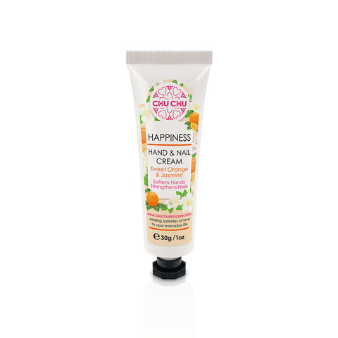 ChuChuSkincare Sweet Orange EO Hand and Nail Cream 甜橙茉莉清新修護潤手護甲霜