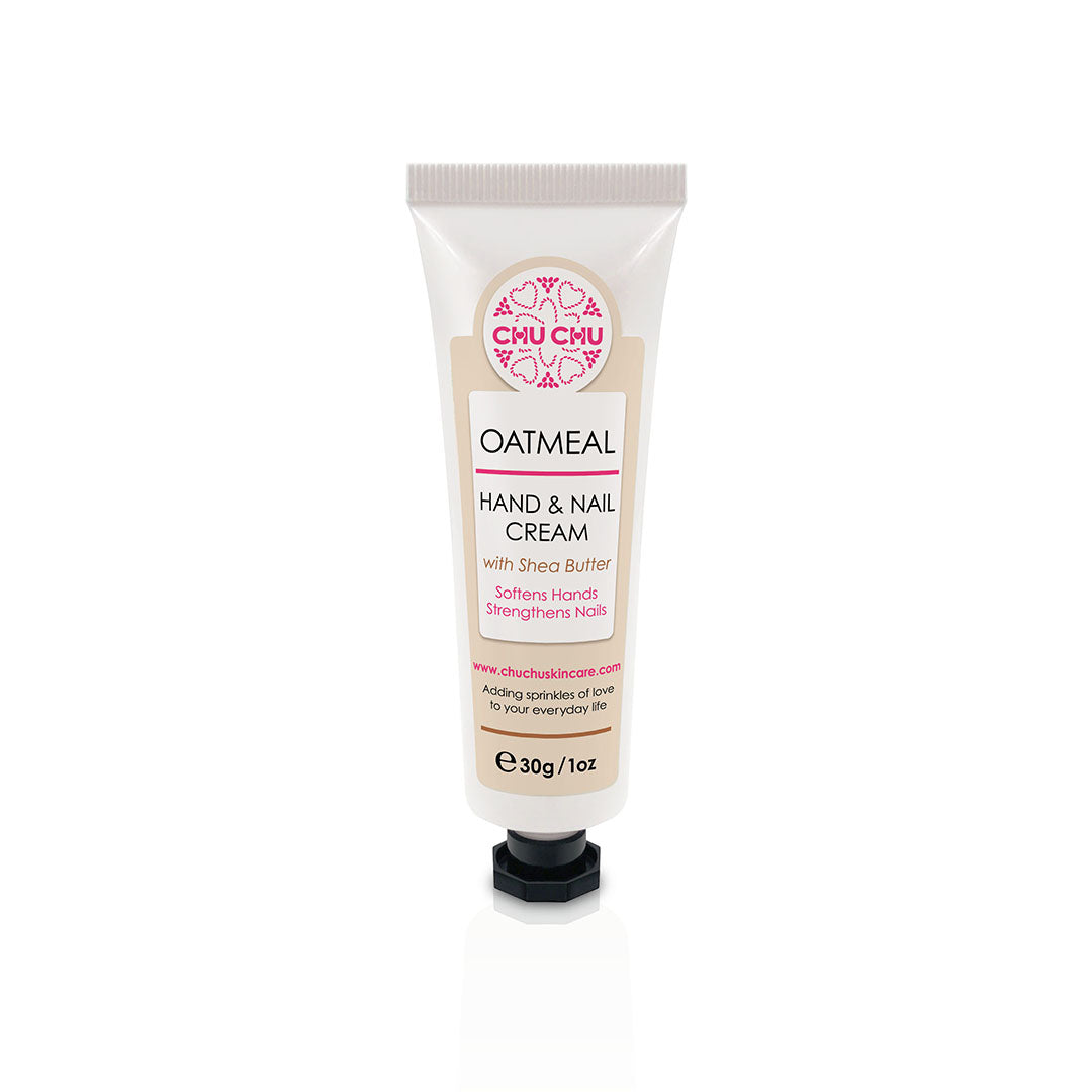 ChuChuSkincare Unscented Oatmeal Hand and Nail Cream