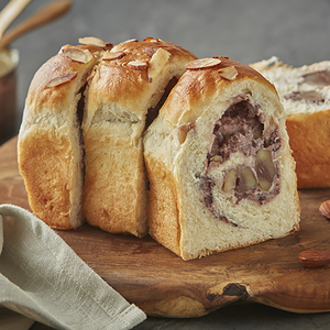 Chestnut Redbean Cream Bread