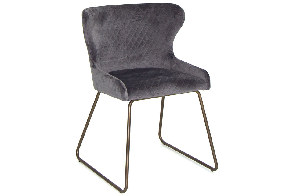 Aria Dining Chair Grey
