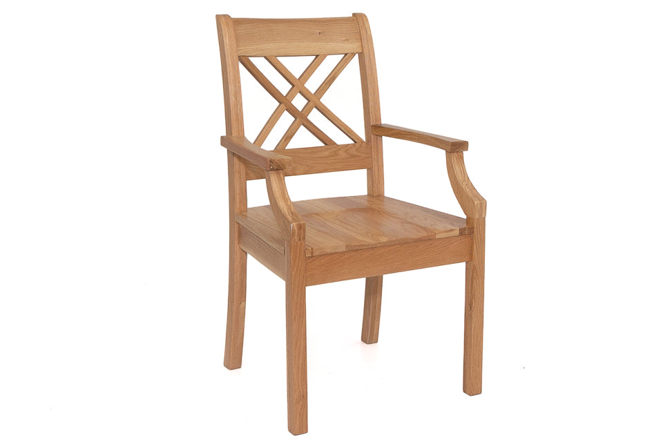 Baldwin Carver Chair With Timber Seat