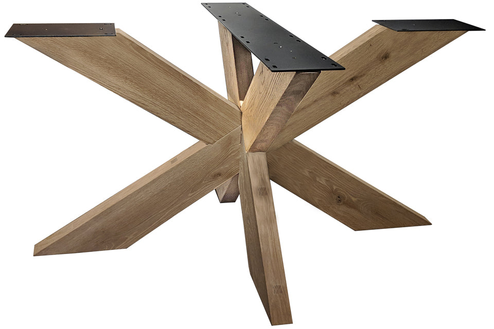 Wooden Starburst 900Mm X 1400Mm ( Tables Up To 240Cm)