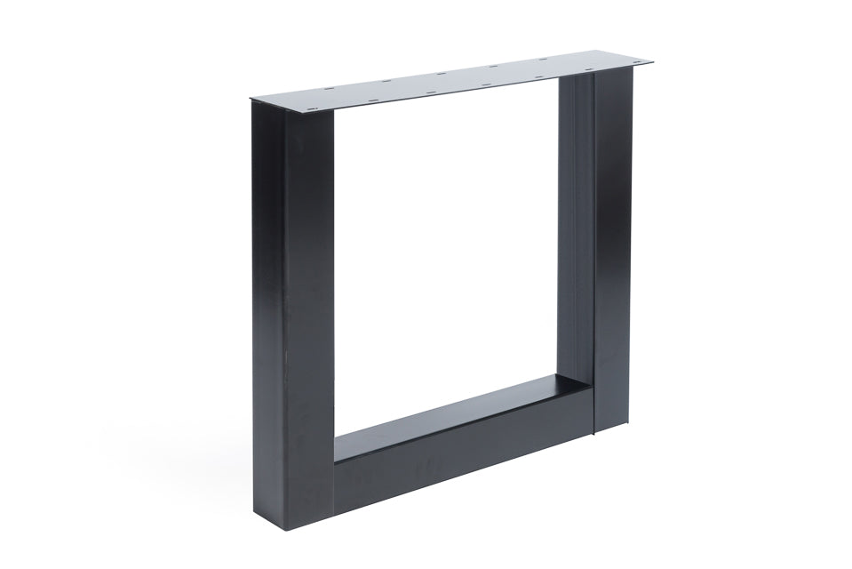 Metal U Base - Black (Grey & White Also Available)