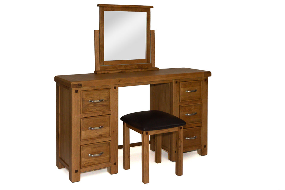 Bewley Dressing Table with Mirror And Stool