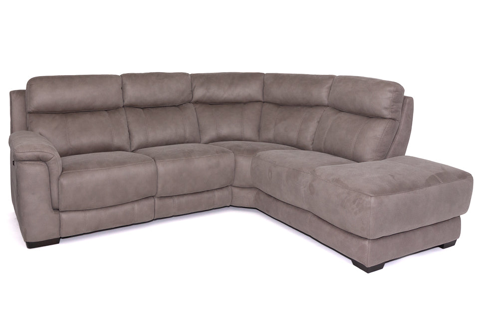 Boland Electric Corner Unit With Chaise Termination in Fabric