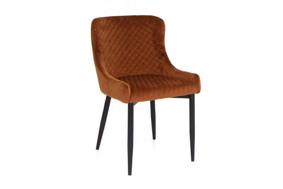 Diane Dining Chair - Rust