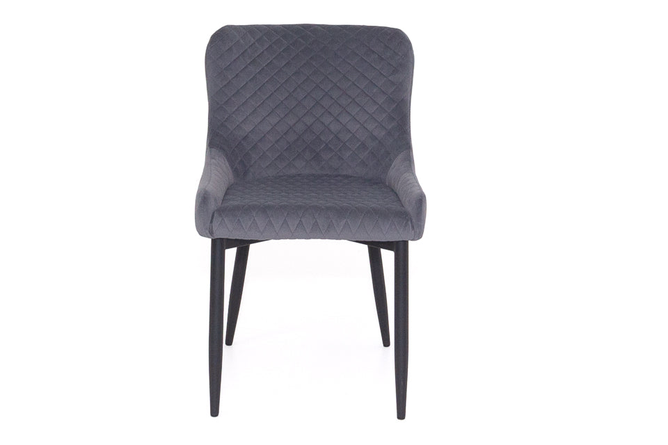 Diane Dining Chair Silver Grey