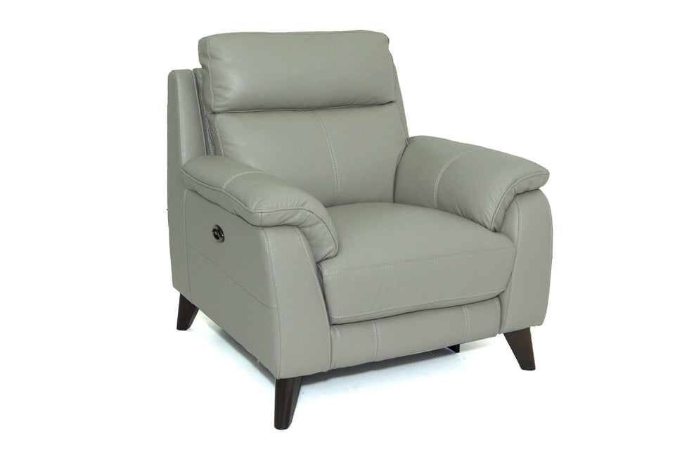 Giovanna Electric Recliner Chair in Leather