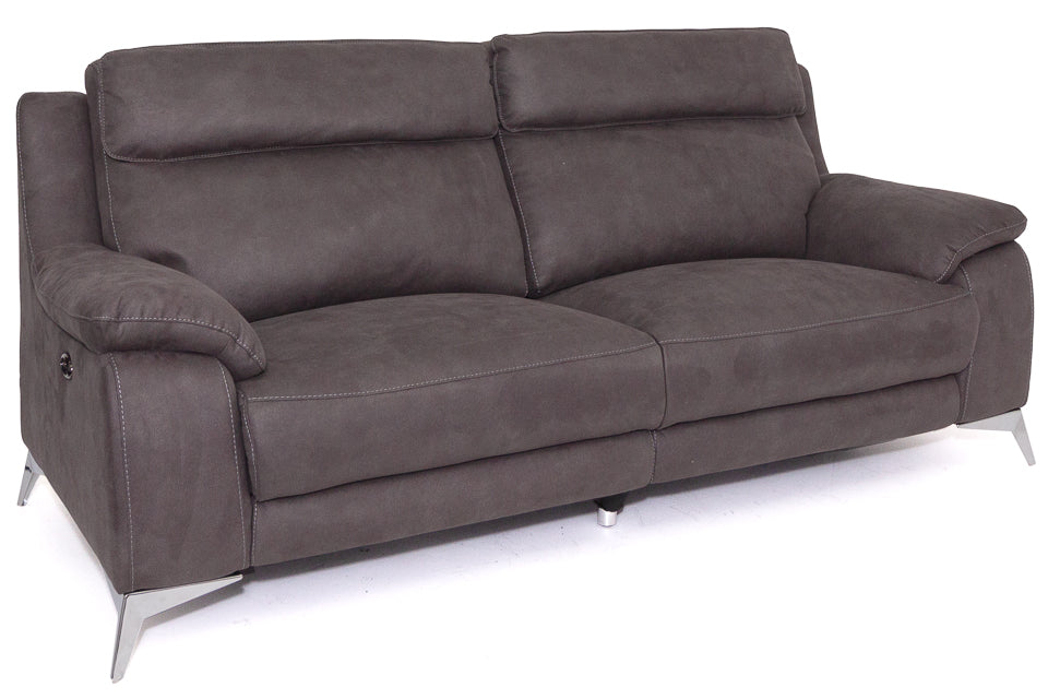Oakland  2.5 Seater Electric Reclining Sofa in Fabric