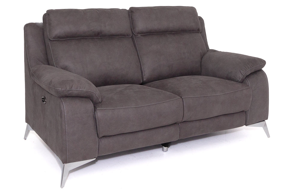 Oakland 2 Seater Electric Reclining Sofa in Fabric