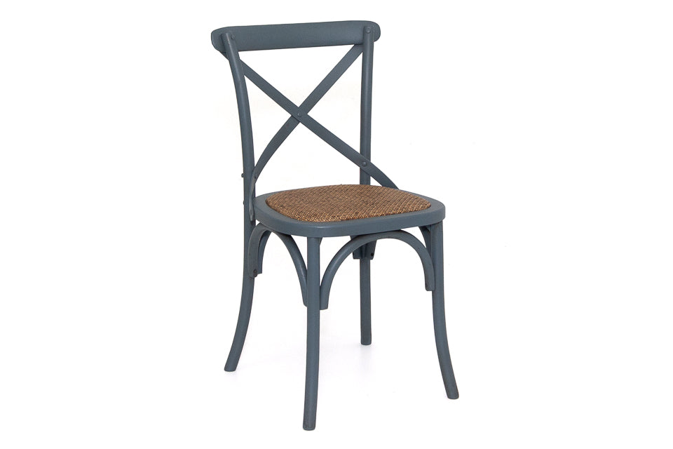 Silvia Dining Chair Antique Grey