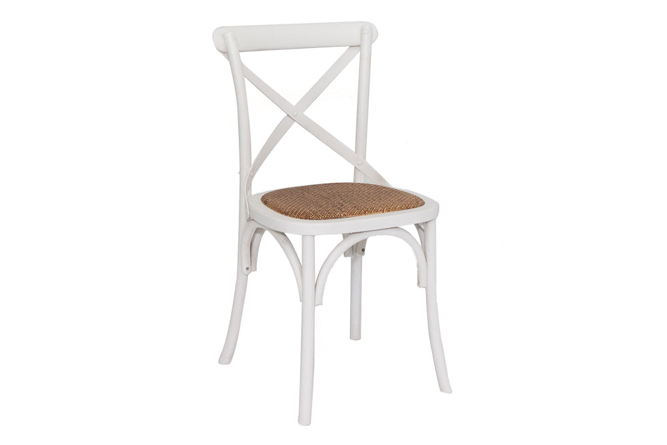 Silvia Dining Chair Antique White