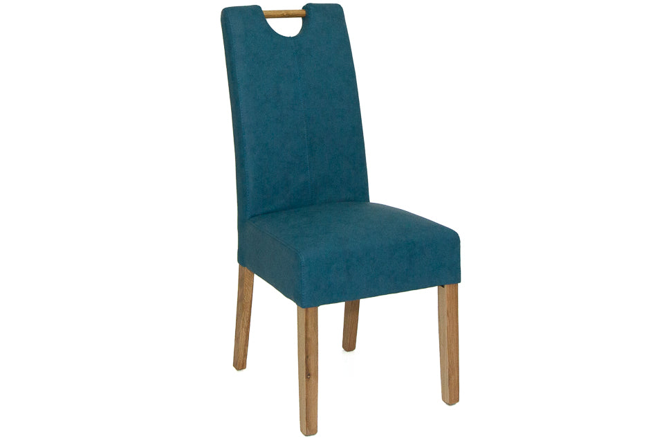 Toulouse Dining Chair Teal Blue