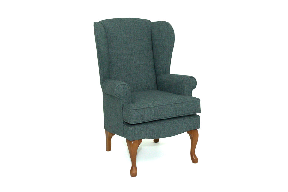 Westminster High Seat Chair With Walnut Legs