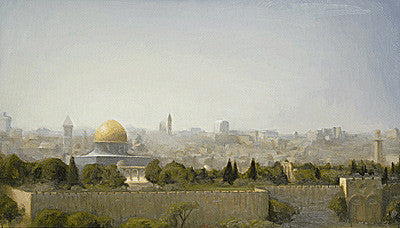 Schneier - Panorama of Jerusalem