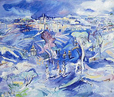 Ofra Friedland - Jerusalem in Blue