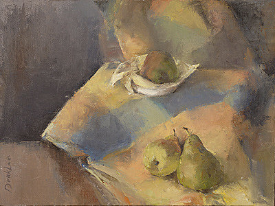 Doukhan - still life with pears