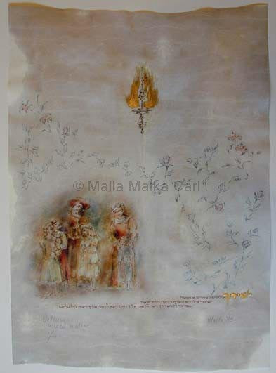 Malla Carl - Blessing of the children