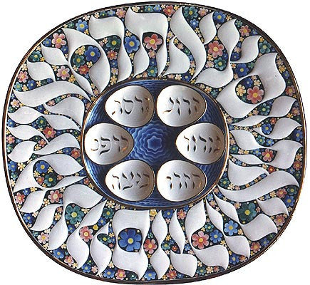 The spring Seder Plate