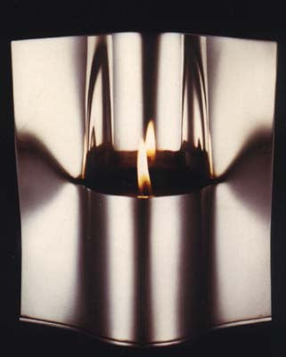 "Zelig Segal's Z""L Yahrtzeit Candle holder"