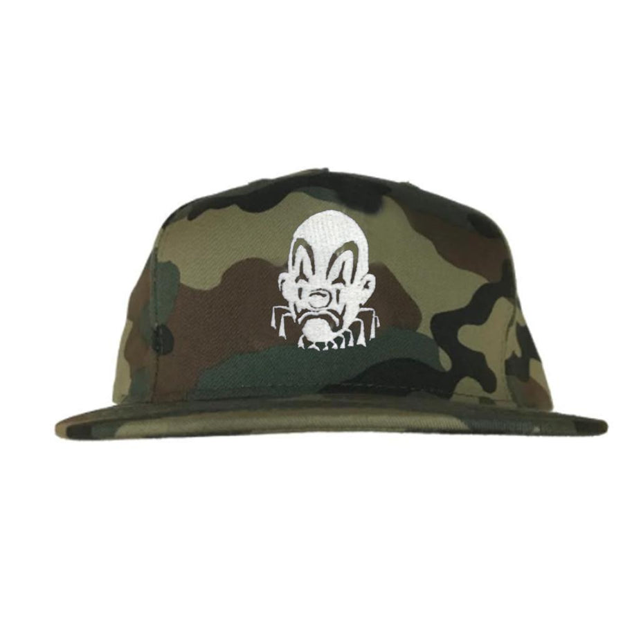 JOKER EMBROIDERED HAT - CAMO