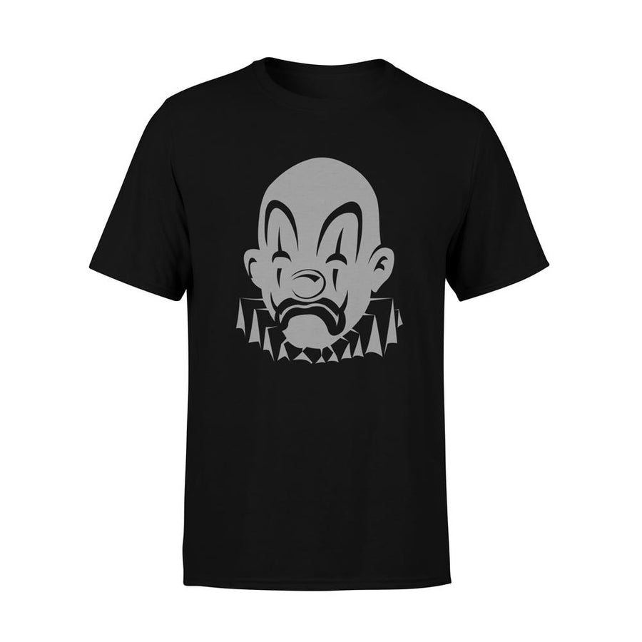 GREY JOKER LOGO TSHIRT - BLACK