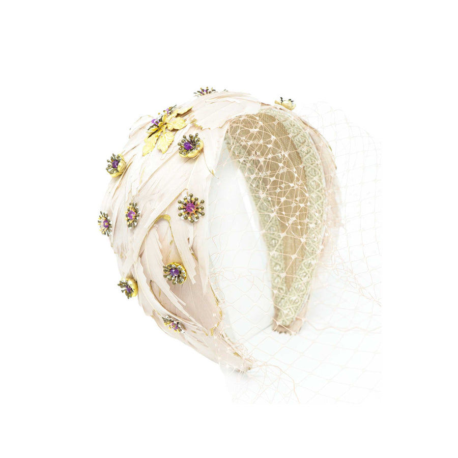 Florencia Feather Headband