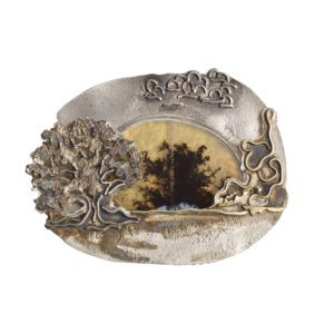 Brooch by jeweller Michele White