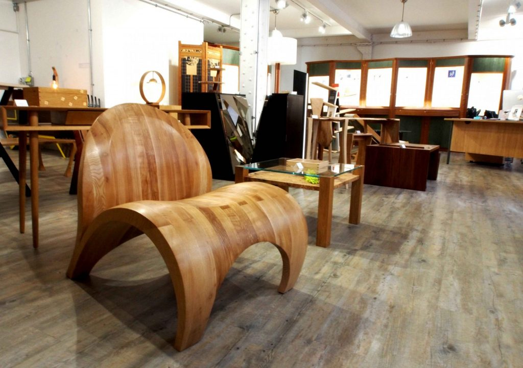 Artisan Alchemy is a bespoke furniture and jewellery gallery based in Birmingham's Jewellery Quarter