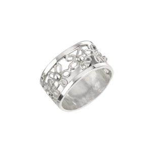 Jeweller Michele White silver ring