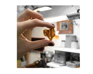 amber used in the jewellery business in Birmingham