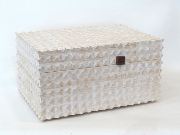 Double Fluted Jewellery Box/ Chest