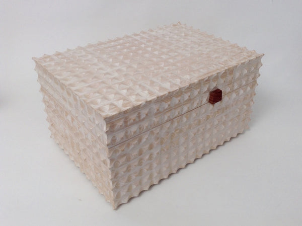 Double Fluted Jewellery Box