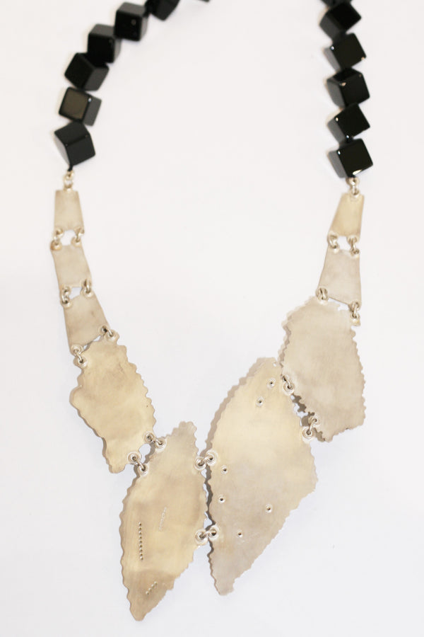 Chalcedony and Diamond Necklace - No. 42