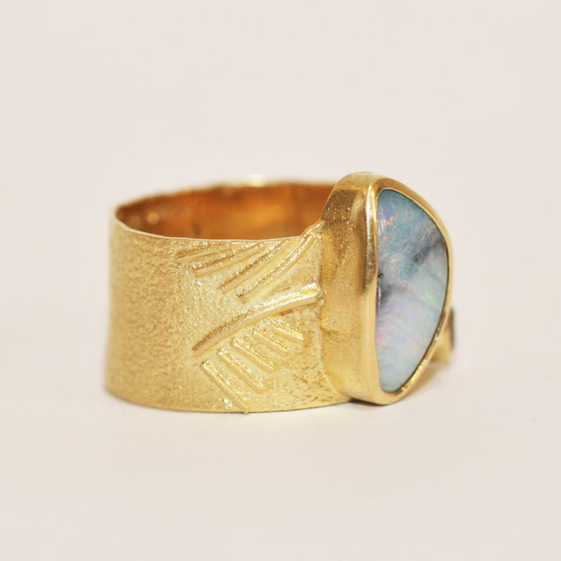 Gold and Opal Ring - No. 7