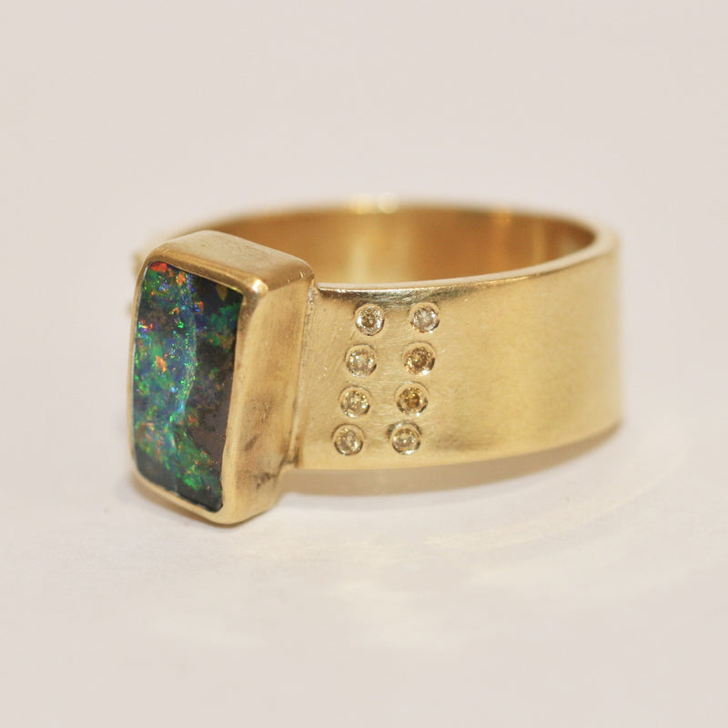 Gold and Opal Ring - No. 27