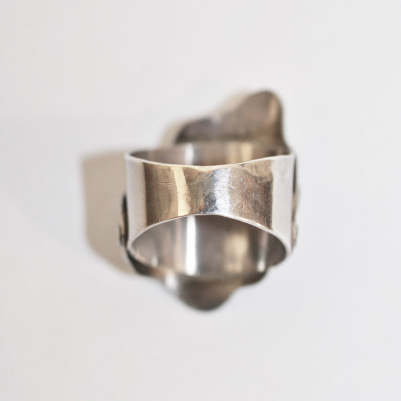 Silver and Opal Ring - No. 1