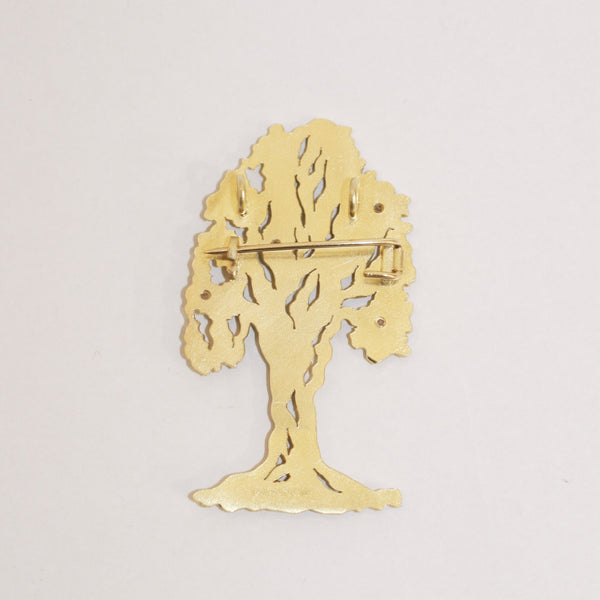 Tree Brooch - No. 4