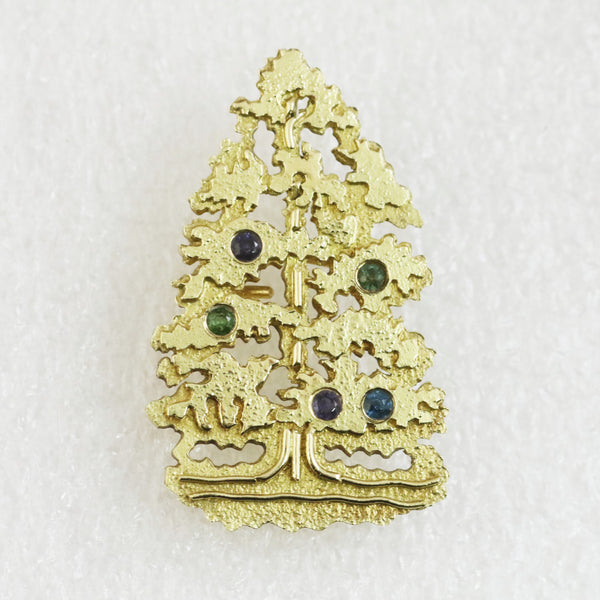 Christmas Tree Brooch - No. 5