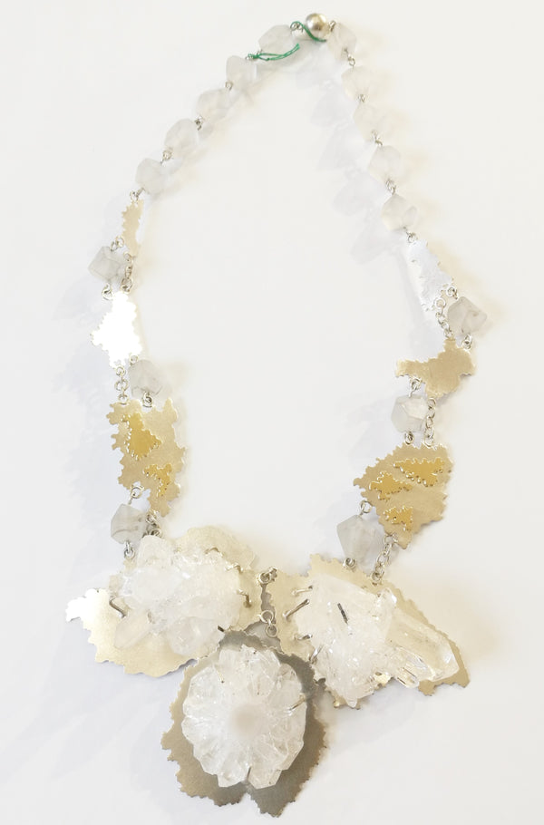 Rock Crystal Necklace - No. 37