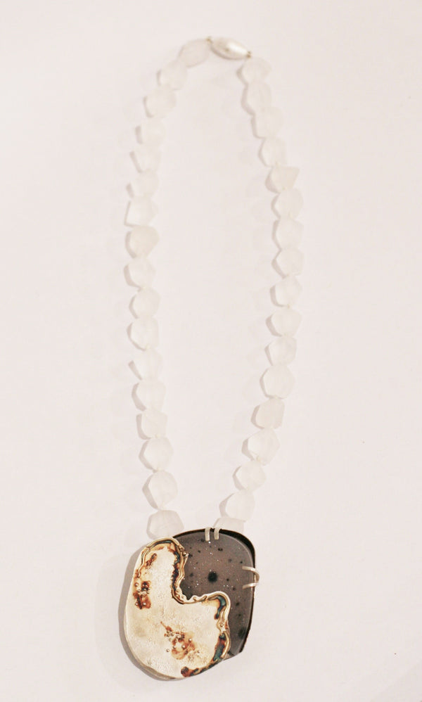 Chalcedony Necklace - No. 45
