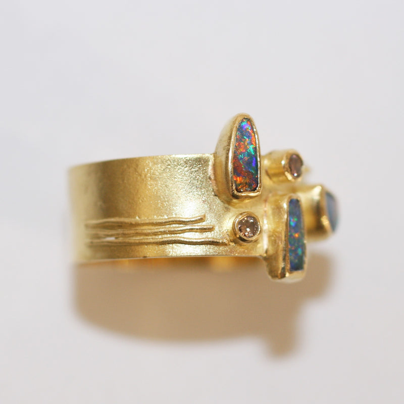 Gold and Opal Ring - No. 34